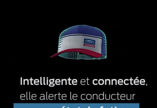 casquette connectée Ford SafeCap