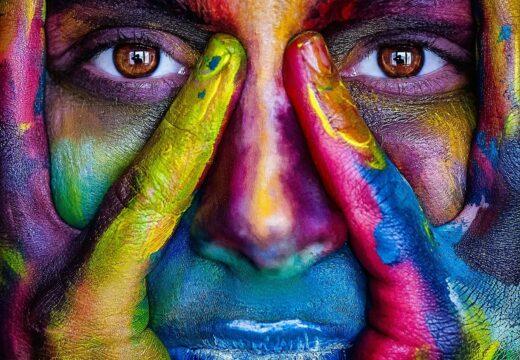 gage pour action ou vérité : se peindre le visage!